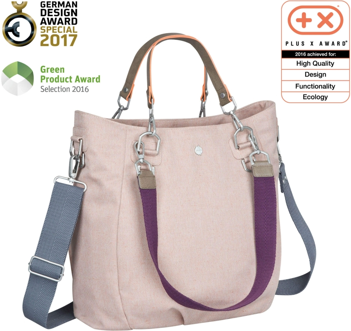Taška na kočárek Lässig Green Label Mix n Match Bag - rose - Skibi Kids 6080e60826f