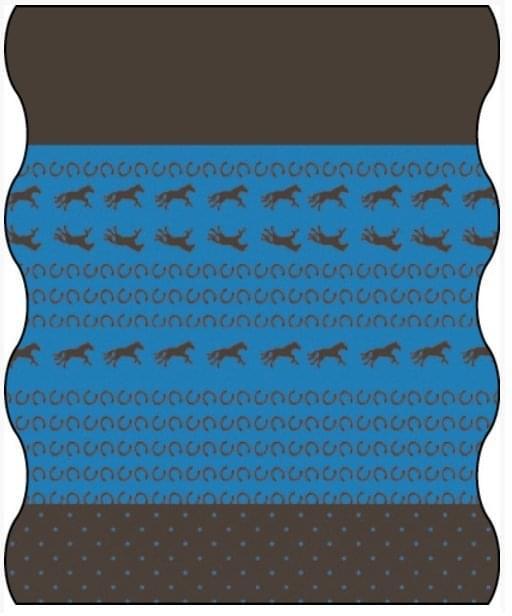 076d01ed08b Dětský multifunkční šátek Lassig Twister Kids Fleece - horse - Skibi ...