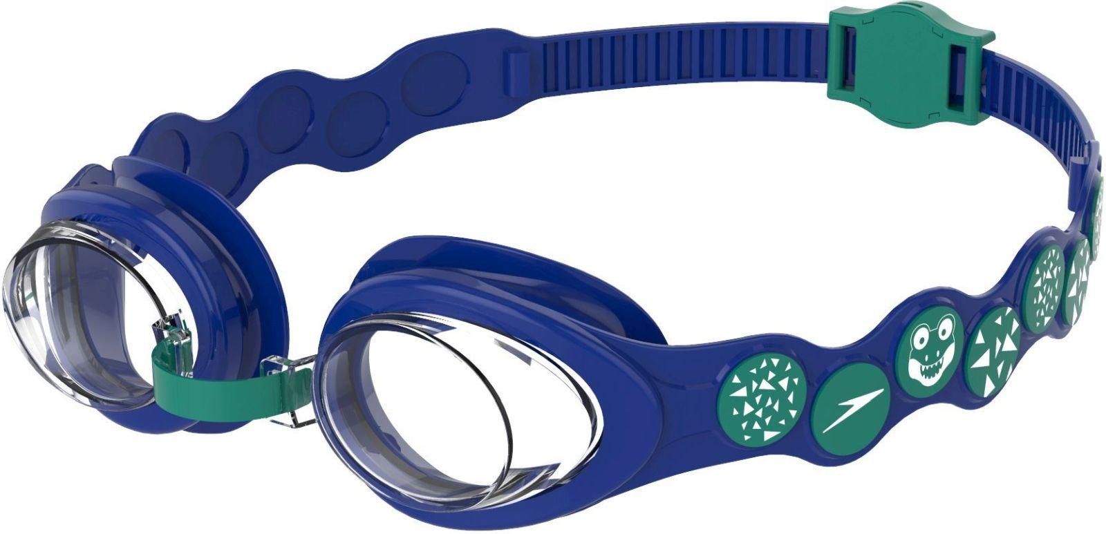 Levně Speedo Spot Goggle - blue/emerald/clear