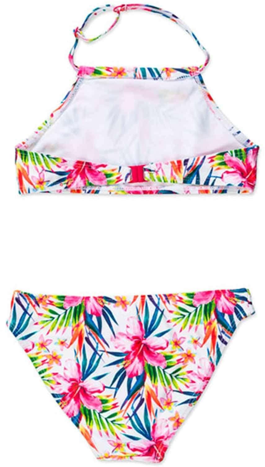 Dívčí dvoudílné plavky Losan - white - Skibi Kids 0b19bb0bd6