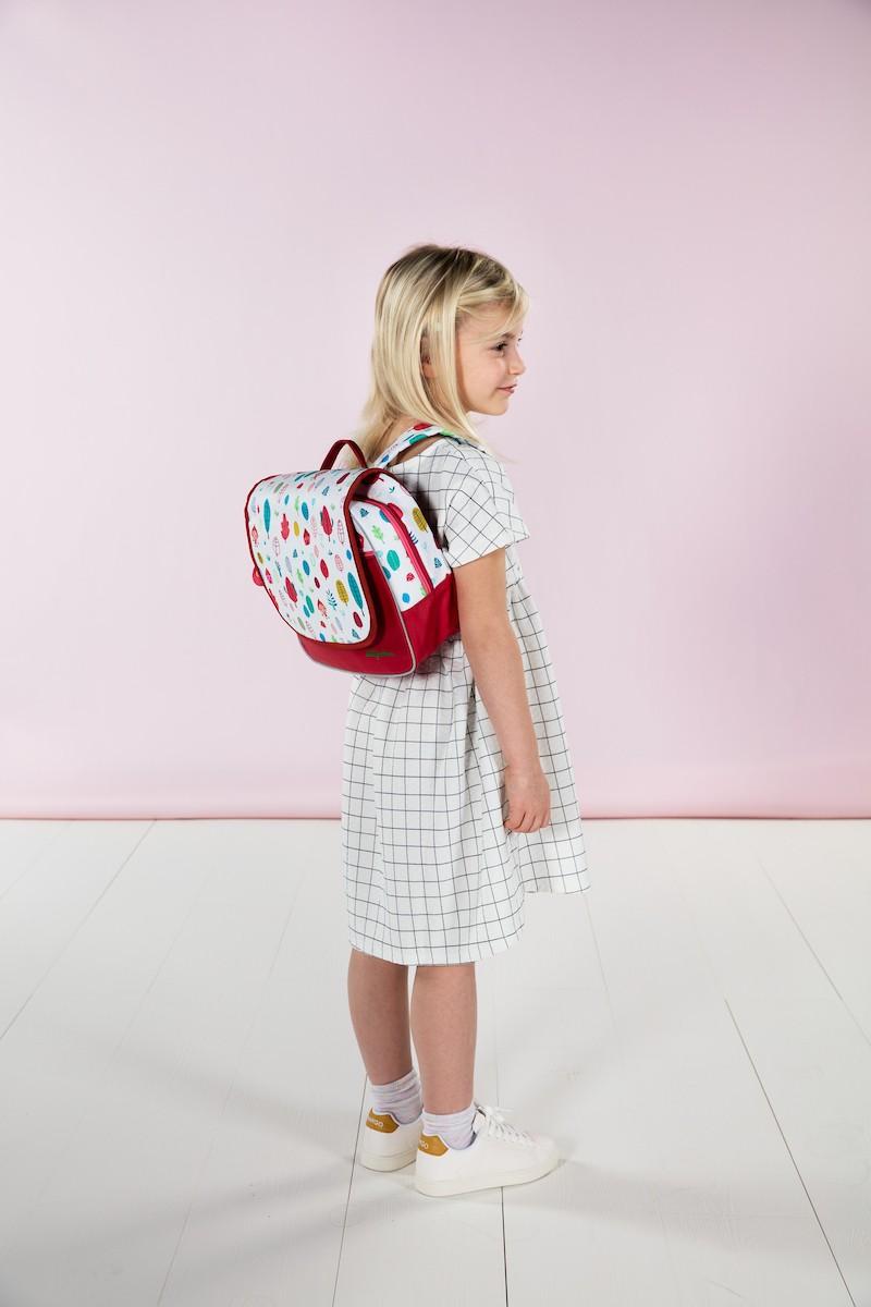 Malá předškolní taška Lilliputiens - Červená karkulka - Skibi Kids 9b3fe40cc1