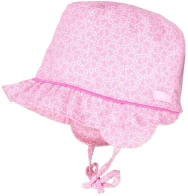 Dětský klobouk Maximo Baby Girl - pink white - Skibi Kids 7a4bebd41c