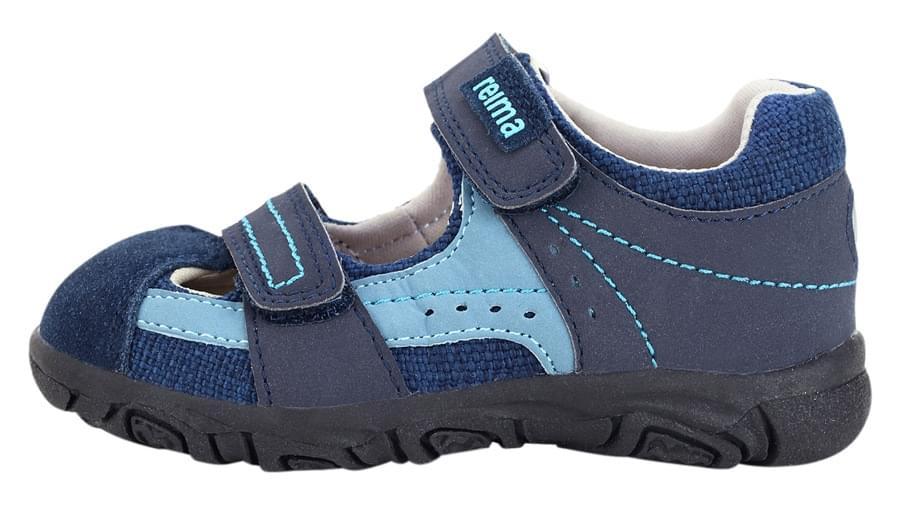 0c15d866bcf Dětské sandály Reima Salza - navy - Skibi Kids