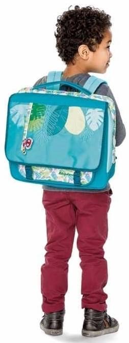 Dětská aktovka do školy Lilliputiens A4 - Georges - Skibi Kids b3fe44be0d