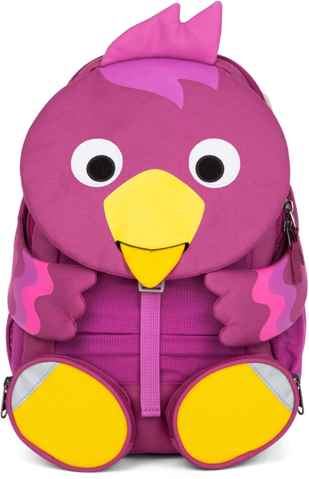 17930c80ac6 Dětský batoh do školky Affenzahn Bibi Bird large - purple - Skibi Kids