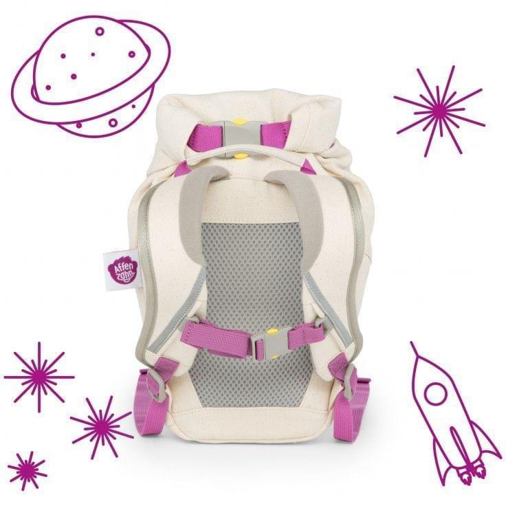 083d32ce2a ... Dětský batoh do školky Affenzahn Mighty Monster small - Purple ...