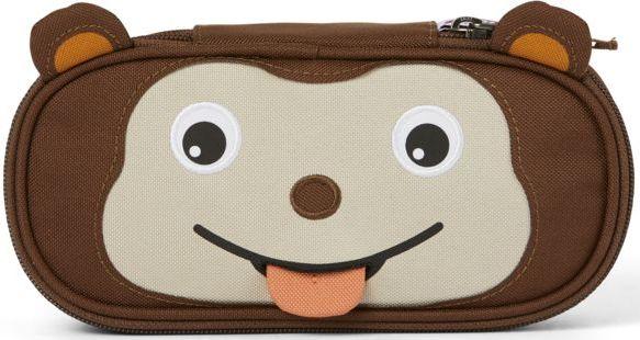 Levně Affenzahn Pencil Case Monkey - brown