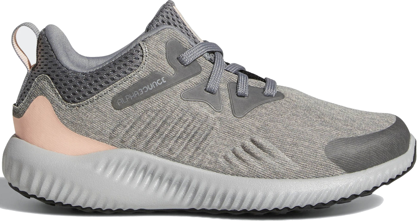 Dětské boty Adidas Alphabounce Beyond - grey three grey two real magenta ffb03a2673