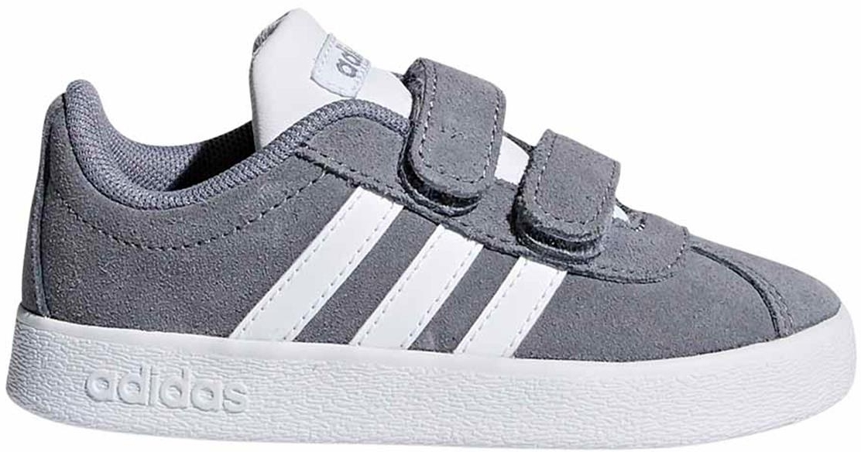 65b479ec960e6 Dětské boty Adidas VL Court 2.0 CMF - grey - Skibi Kids