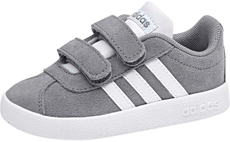 Dětské boty Adidas VL Court 2.0 CMF - grey - Skibi Kids a911275fb1c