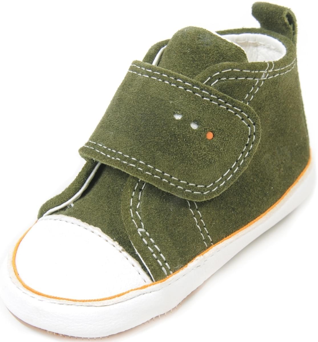 Dětské barefoot první botičky Dulis Baby Eco - olivový háj - Skibi Kids a7006bbfaf