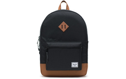 Dětský batoh Herschel Heritage Youth XL - black saddle brown 929d59f816