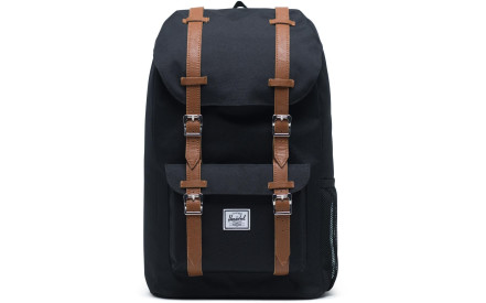 Dětský batoh Herschel Little America Youth - black saddle brown 50adcddf92