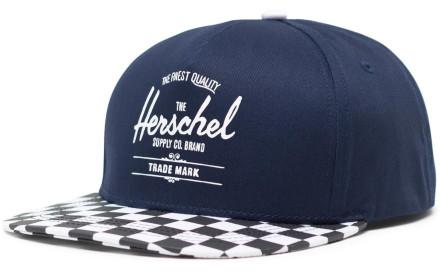 650288e172f Dětská kšiltovka Herschel Whaler Youth - medieval blue checkerboard