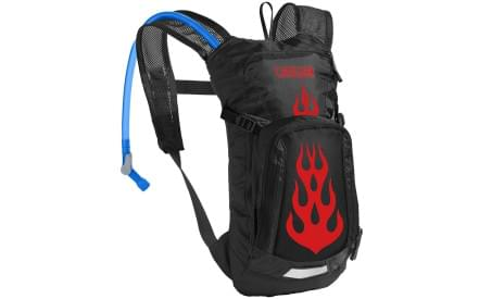 e3e5fd0be9f Dětský cyklistický batoh Camelbak Mini - Mule - Black Flames