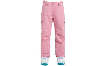 46f46142877 Dívčí zimní kalhoty Burton Girls Elite Cargo Pant Sea Pink