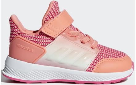 Dětské boty Adidas Rapidarun EL I - chalk coral ftwr white real pink 482751a209