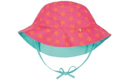 Dětský oboustranný klobouk Lassig Sun Protection - peach stars 4caf84dc98