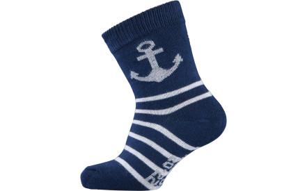 5a666c4ac8c Dětské ponožky Melton Babysock Anchor   Stripes - navy