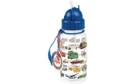 Dětská láhev na vodu - Vintage Transport 71f156573ad