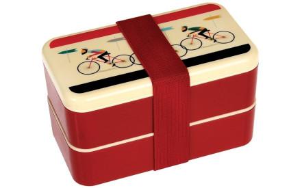 Dětský svačinový box s příborem Le Bicycle Adult Bento Box f464ca3a850