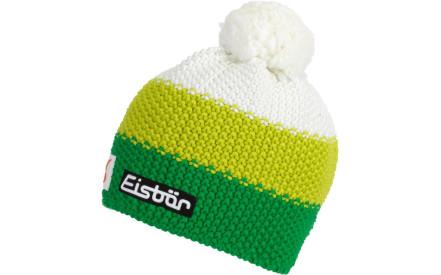 Dětská zimní čepice Eisbär Star Pompon MÜ SP kids - electric lime white b220741eb5