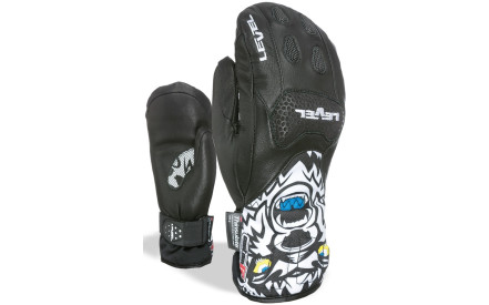 d5103b28190 Dětské lyžařské rukavice Level Junior s SQ CF Mitt - black