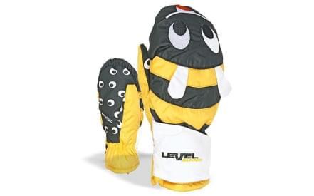 149d118635e Dětské palčáky Level Animal - yellow (Bee)