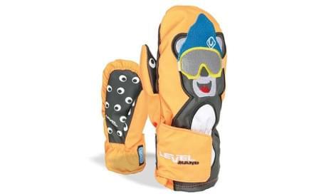 3eb95254217 Dětské palčáky Level Animal - orange (Bear)