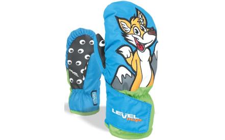6796a9f85bb Dětské lyžařské palčáky Level Animal (fox) - forest)