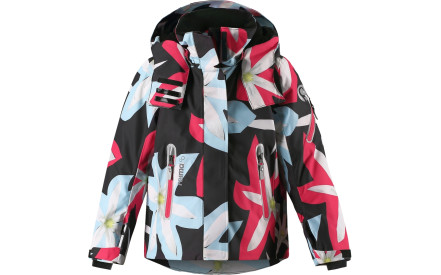 Dívčí membránová bunda Reima Roxana - black ee671c20d1