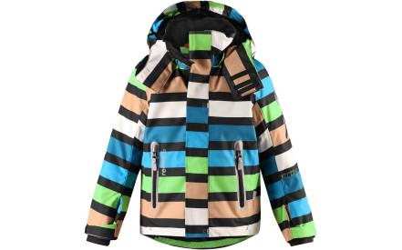 Dětská membránová bunda Reima Regor - black f80c095413