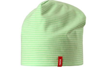 e5548aa6f73 Dětská oboustranná čepice Reima Tanssi - Summer green
