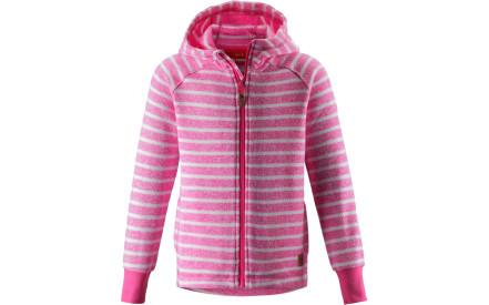 8b87bd9def6e Dětská fleecová mikina Reima Sarki - candy pink