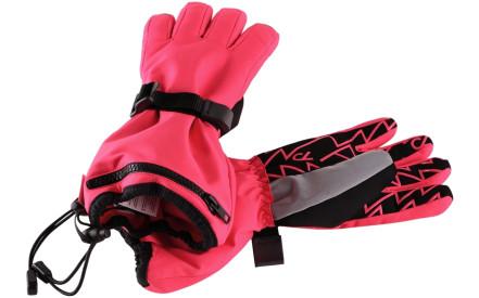 2e352268379 Dětské rukavice Reima Viggu - strawberry red