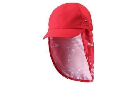 7a4bd6961f3 Dětský letní klobouček s UV ochranou Reima Alytos - flame red