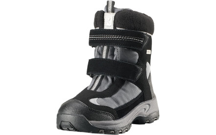 Dětské zimní boty Reima Kinos - Black 90df70ed1c