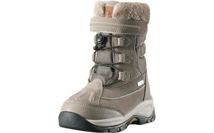 Dětské zimní boty Reima Samoyed - Dark sand 880feb5176