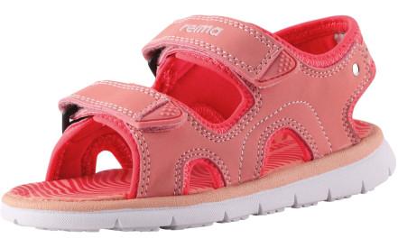 aa467262b3fe Dětské sandály Reima Bungee - coral pink