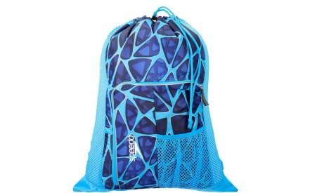 c271b6e3eba Dětský batoh na plavání Speedo Deluxe Vent Mesh Bag - blue