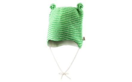 Dětská zimní čepice Reima Nokoset - leaf green e28f1cd84e