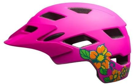 Dětská cyklistická přilba Bell Sidetrack Youth Mat Pink Blossom 05d67edc104