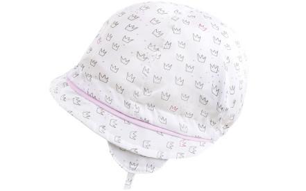 Dívčí letní klobouček Maximo Baby Girl – white crown 28f661fbd7