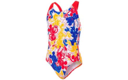 575d91e9b0 Dívčí plavky Speedo Disney Mickey Mouse Allover Swimsuit - blue red