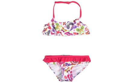 Dívčí dvoudílné plavky Losan - strawberry 9066314d97