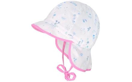 Dětský klobouk Maximo Mini - white aloha 472c5b59f9