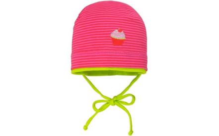 Dětská čepice Maximo Mini Girl - pink green 32d94f1932