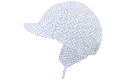 Dětská letní čepice Maximo Mini Boy - babyblue white 56937ad274