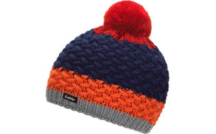 b808ba4b336 Dětská zimní čepice Eisbär Dilita Pompon MÜ kids - graumele lt.orange marine