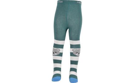b28172cf421 Dětské punčocháče Melton Babytights Bear on Knee - jasper green